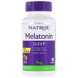 Отзывы о Natrol, Мелатонин, быстрое растворение, клубника, 1 мг, 90 таблеток