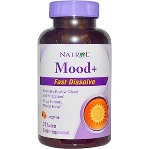Нэтрол, Mood+, Fast Dissolve, Tangerine, 30 Tablets отзывы