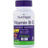 Отзывы о Natrol, Vitamin B-12, Fast Dissolve, Maximum Strength, Strawberry, 5,000 mcg, 100 Tablets