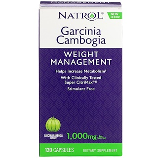 Herbal supplement garcinia cambogia