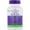 Natrol, 無臭性クリルオイル、1,000 mg、ソフトジェル30錠