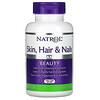 Natrol, Skin, Hair & Nails, Beleza Avançada, 60 Cápsulas