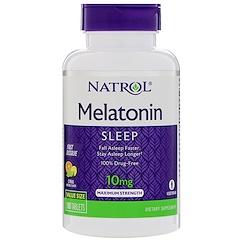 Natrol, Melatonin, Maximum Strength, Citrus Flavor , 10 mg, 100 Tablets