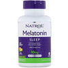 Natrol, Melatonin, Maximum Strength, Citrus Flavor , 10 mg, 100 Tablets