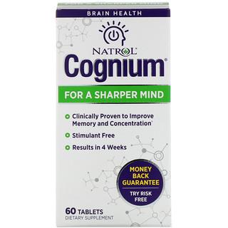 Natrol, Cognium, 60 حبة