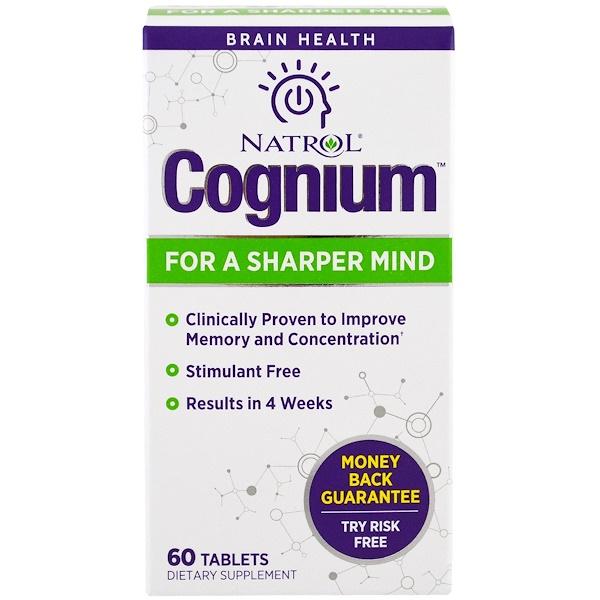 Natrol, Cognium, 60片