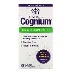 Нэтрол, Cognium, 60 Tablets отзывы покупателей
