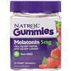 Natrol, Gummies, Melatonin, Strawberry, 5 mg, 90 Count