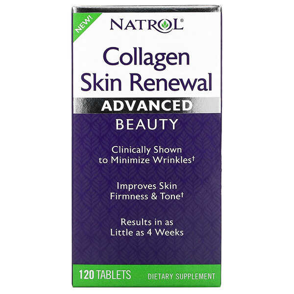 Natrol, Collagen Skin Renewal, 120 Tablets