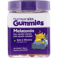 Natrol, Kids, Melatonin Gummies, Berry, 90 Gummies