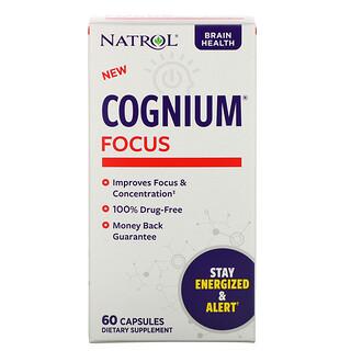 Natrol, Cognium Focus, 60 Capsules