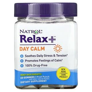 Natrol, Relaxia، تهدئة للنهار، كوكتيل الفواكه، 60 علكة