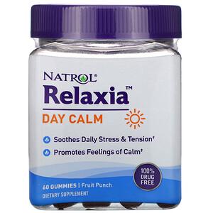 Нэтрол, Relaxia, Day Calm, Fruit Punch,  60 Gummies отзывы