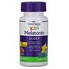 Natrol, 子ども用メラトニン、即溶性、4歳以上向け、ストロベリー、30粒
