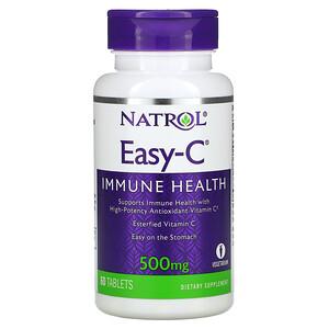 Нэтрол, Easy-C, 500 mg, 60 Tablets отзывы