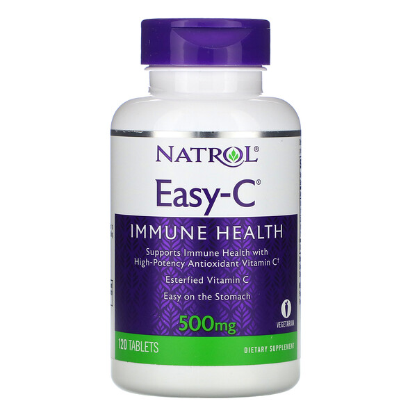 Easy-C, 500 mg, 120 Tablets