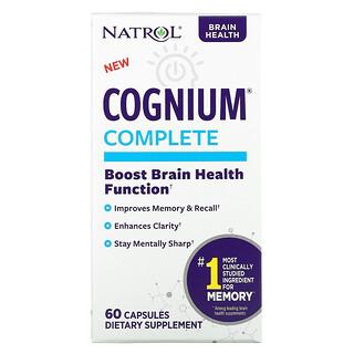 Natrol, Cognium Complete, 60 Capsules