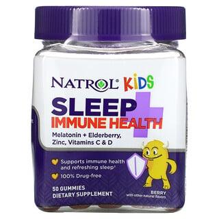 Natrol, Kids, Sleep + Immune Health, Berry, 50 Gummies