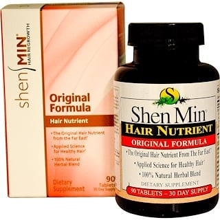 Natrol, Shen Min, Hair Nutrient, Original Formula, 90 Tablets