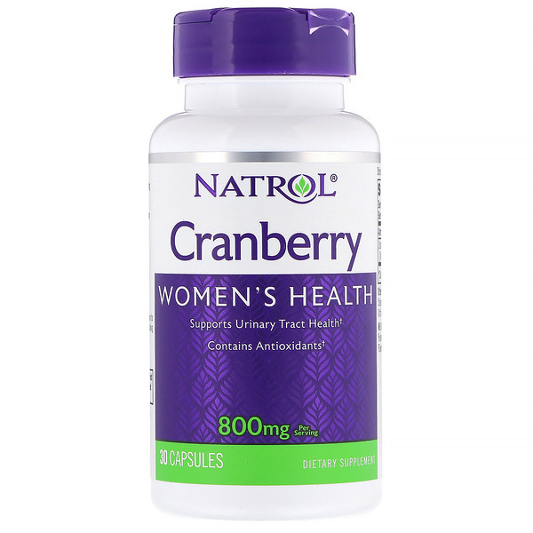 Cranberry, 800 mg, 30 Cápsulas