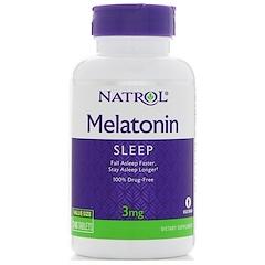 Natrol, Melatonin, 3 mg, 240 Tablets