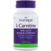 L-карнитин, 500 мг, 30 капсул - фото