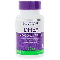 Natrol, DHEA, 50mg, 60tablettes