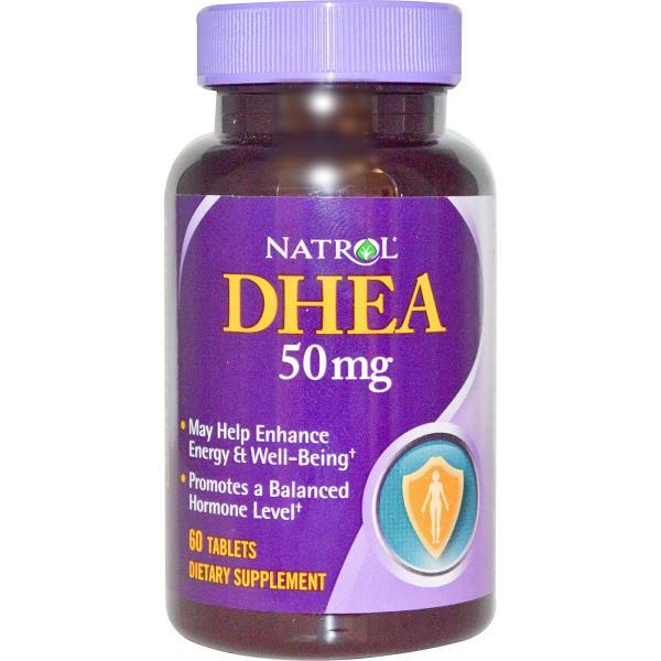 Natrol, DHEA, 50 mg, 60 Tablets