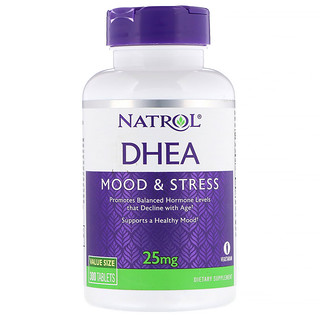 Natrol, DHEA (الديهيدرو أبي أندروستيرون) 25 مجم، 300 قرص