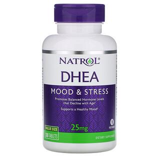 Natrol, DHEA, 25 mg, 300 Tablets