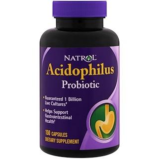Natrol, Acidophilus, 150 Capsules