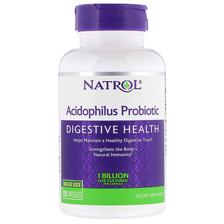 Natrol, Acidophilus Probiotic, 1 Billion, 150 Capsules