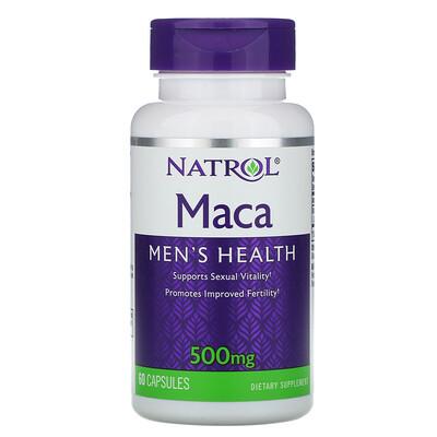 Купить Natrol Maкa, 500 мг, 60 капсул