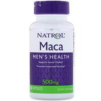 Maкa, 500 мг, 60 капсул - фото