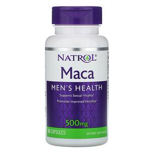 Нэтрол, Maca, 500 mg, 60 Capsules отзывы покупателей