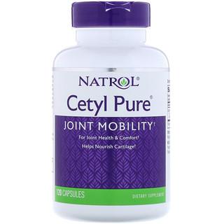 Natrol, Cetil puro, 120 cápsulas