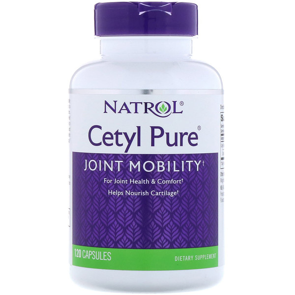 Natrol, Cetyl Pure, 120 Capsules (Discontinued Item)