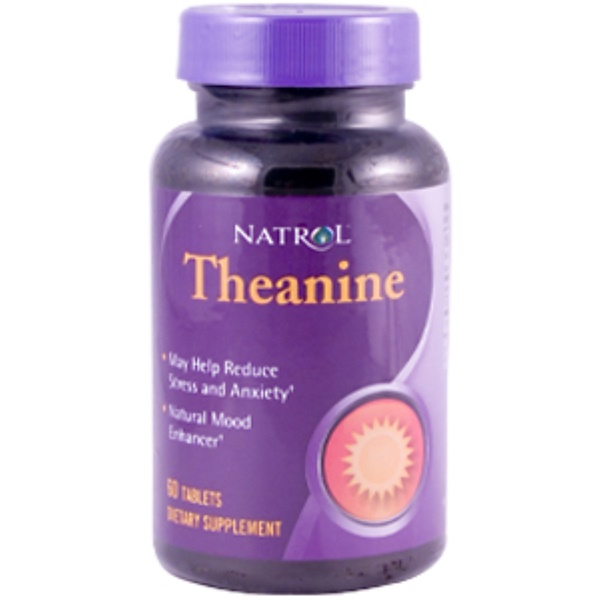Natrol, Theanine, 60 Tablets (Discontinued Item)