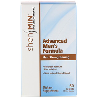 Natrol, Shen Min, Advanced Men's Hair Strengthening Formula, 60 Tablets