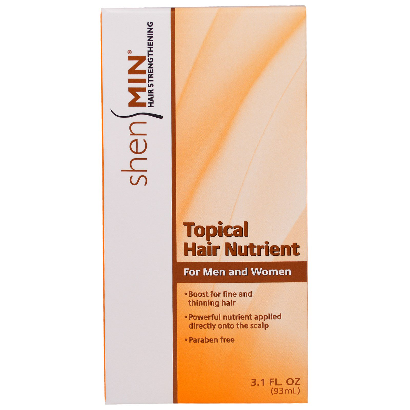 Natrol Shen Min Topical Hair Nutrient For Men And Women 31 Fl