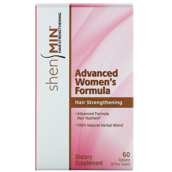 Shen Min, Advanced Women's Hair Strengthening Formula, 60 Tablets