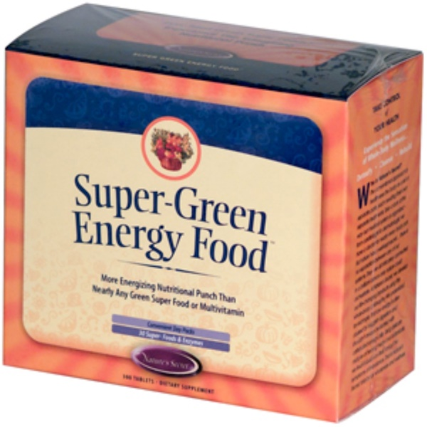 Nature's Secret, Super-Green Energy Food, 300 Tablets (Discontinued Item)