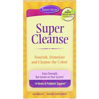 Nature's Secret, Super Cleanse, 100 Tablets