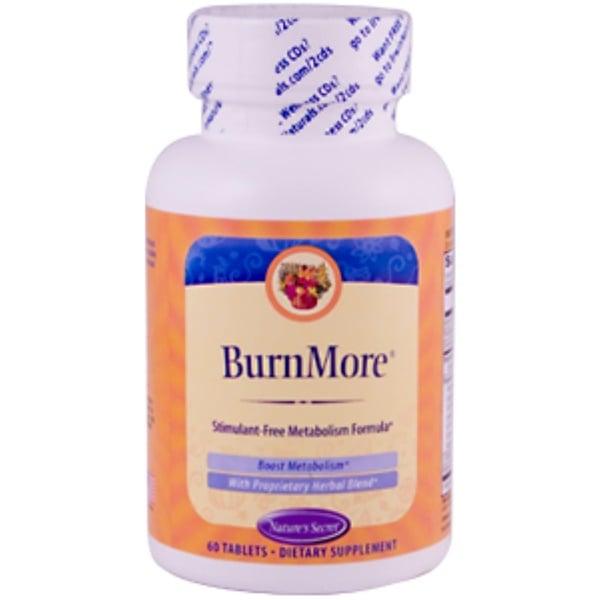 Nature's Secret, BurnMore, 60 Tablets (Discontinued Item)