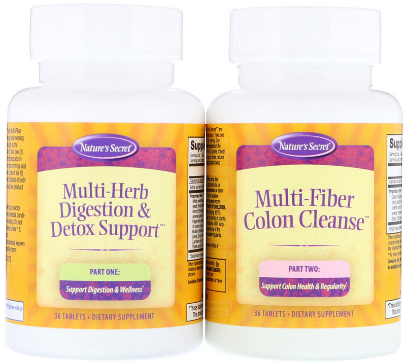 Nature's Secret, 7-Day Ultimate Cleanse, 2-Part Total-Body Cleanse - photo 2