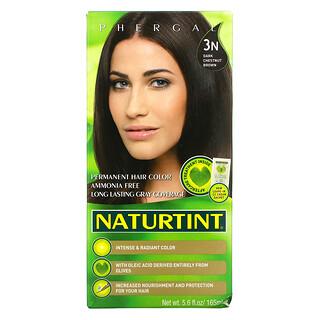 Naturtint, Permanent Hair Color, 3N Dark Chestnut Brown, 5.6 fl oz (165 ml)