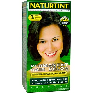 Naturtint, Permanent Hair Color, 3N Dark Chestnut Brown, 5.28 fl oz (150 ml)