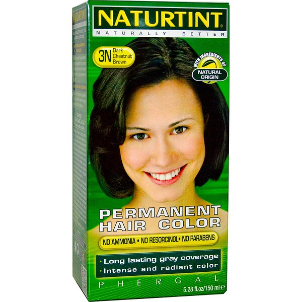 Permanent Hair Color, 3N Dark Chestnut Brown, 5.28 fl oz (150 ml)