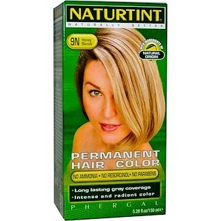 Naturtint, Permanent Hair Color, 9N Honey Blonde, 5.28 fl oz (150 ml)