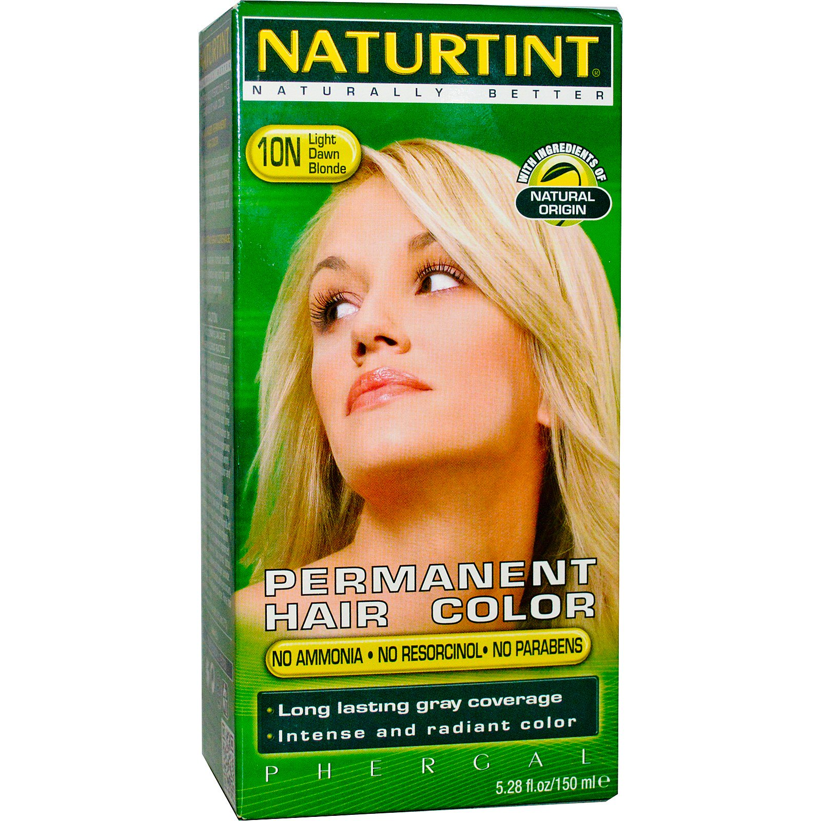 Naturtint Permanent Hair Color 10n Light Dawn Blonde 528 Fl Oz